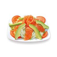 E12 Salade de saumon et avcoat